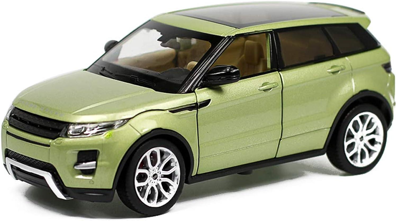 hasta un 60% de descuento RFJJAL RFJJAL RFJJAL Modelo de Coche Coche 1 24 Land Rover Aurora SUV simulación de aleación de fundición de Juguetes Adornos colección de Autos Deportivos joyería 19.4x9x7CM  barato y de alta calidad