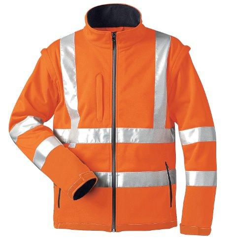 Elysee Herren Warnschutzsoftshell Jacke Orange M