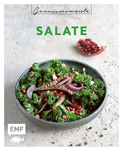 Genussmomente: Salate: Schnelle und einfache Rezepte mit Fleisch, Fisch und Gemüse – Caesar Salad, Antipasti-Teller, Cole Slaw und mehr