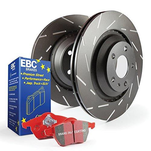 EBC S4KF1190 Stage-4 Signature Brake Kit, BLACK