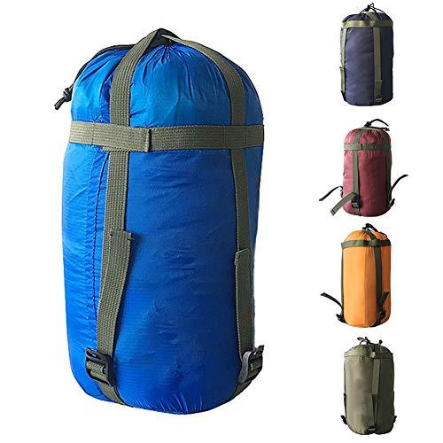 SDGDFXCHN Kompressionssack, Schlafsack Kompressionsnylontasche Mit Kordelzug Für Kleidung, Schlafsack, Kissen, Reisen, Camping Im Freien