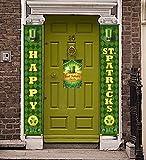 PIXHOTUL St. Patrick's Day Pancartas Decoraciones, Cartel del Porche del día de San Patri...