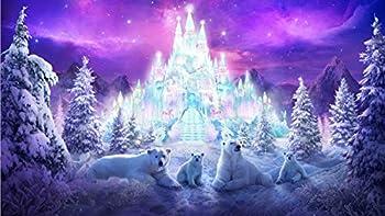 Polar Bear Diamond Painting Set - MaiYiYi DIY 5D Diamond Painting Snow Mountain Crystal Diamond Painting Set Iceberg Stitch Diamond Painting for Adult Kids Home Wall Art Decor  40X65 cm