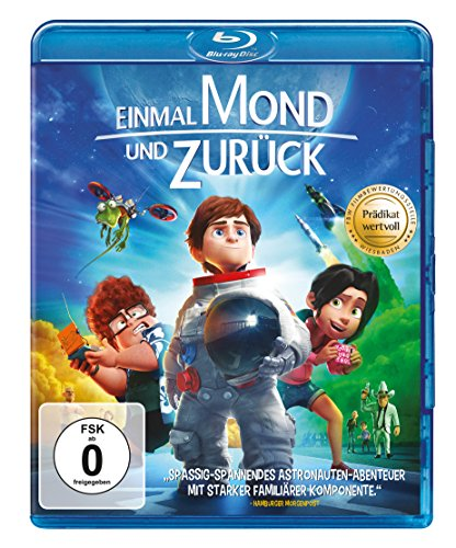 Einmal Mond und zurück [Blu-ray]
