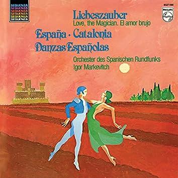 De Falla: Nights in the Gardens of Spain; El amor brujo; Chabrier: España; Ravel: Boléro