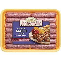 Johnsonville, Vermont Maple Syrup Breakfast Sausage Links, 12 oz (Frozen)