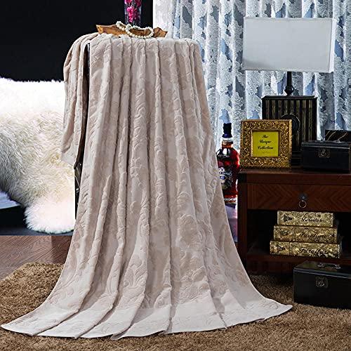 Mantas Cubre Sofas,La Toalla de algodón Puro Tiene Aire Acondicionado-D_90 * 180cm,Mantas...