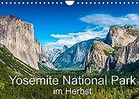 Yosemite National Park im Herbst (Wandkalender 2022 DIN A4 quer): Der Yosemite National Park im Farbenspiel des Herbstlaubs (Monatskalender, 14 Seiten )