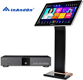 InAndon KV-V5 Pro Karaoke Player Intelligent voice keying machine online movie dual system coexistence real-time score The newest stytle (KV-V5 Pro+8TB HD+19