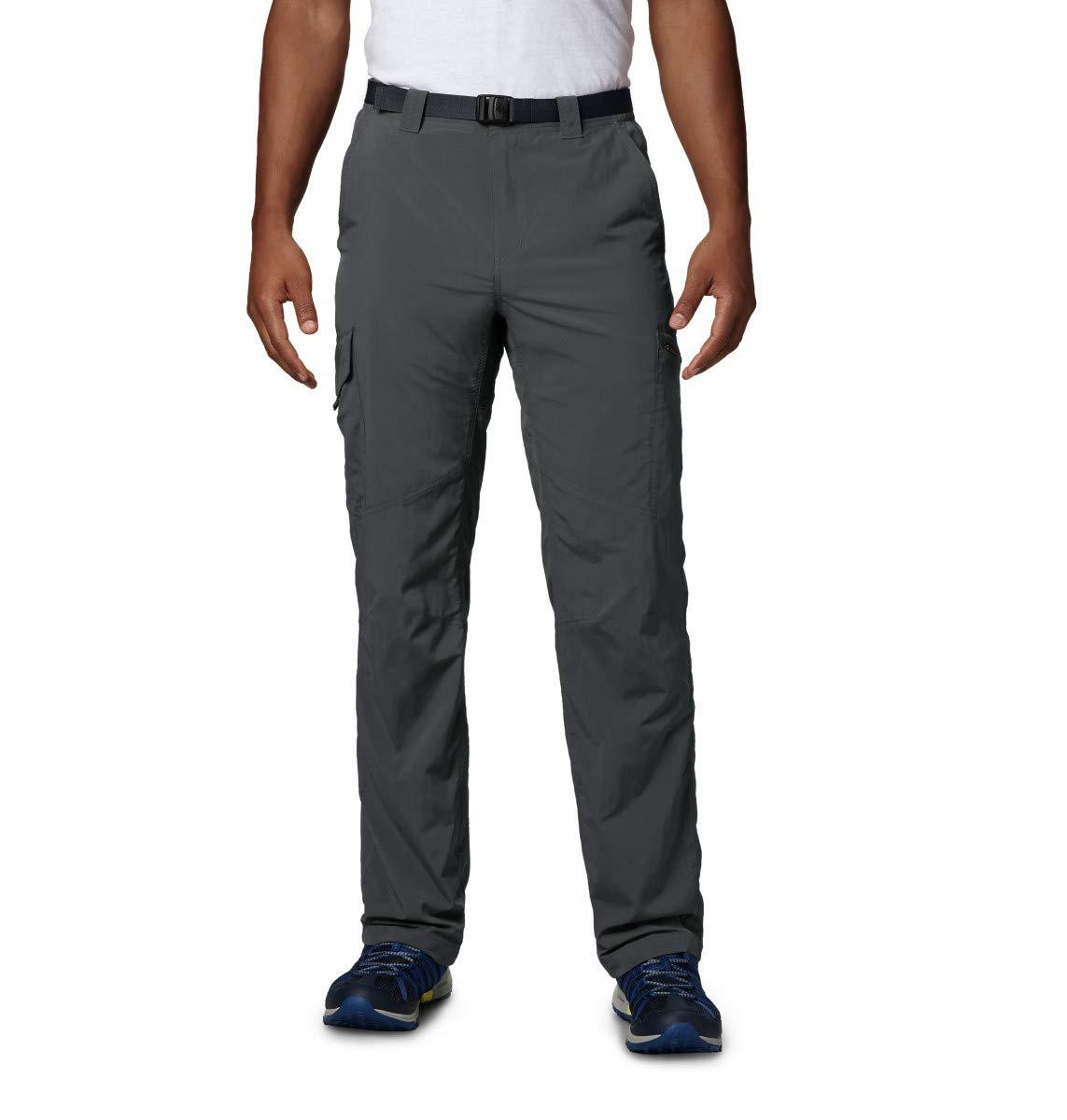 Columbia Cargo Wanderhose für Herren, Silver Ridge Cargo Pant, Nylon, grau (Gri