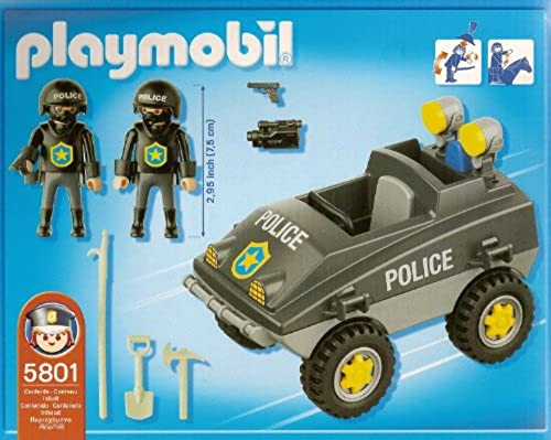 PLAYMOBIL Polizei Einsatzjeep 5801 Exclusiv