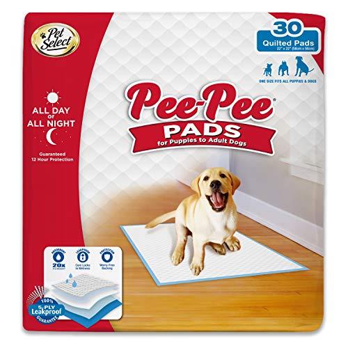 Pee-Pee Puppy Training Pee Pads 30-Count 22