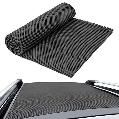 N\A Alfombrilla antideslizante para maletero, se puede cortar, 90 x 100 cm, alfombrilla para cajones, alfombrilla antideslizante para coche, camión, furgoneta, SUV