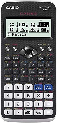 Casio FX-570SPX - Calculadora científica (575 funciones, 12 dígitos), color negro blanco