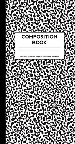 Compare Textbook Prices for Composition Book: Small Dot Grid notebook Standard Traveler's Notebook Sized  ISBN 9798604578957 by AllieScraps