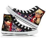 My Hero Academia Casual Zapatos De Lona Anime Impresión Con...