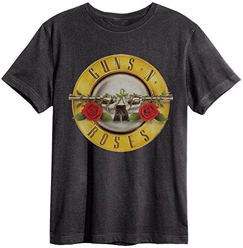 Amplified - Camiseta - Logotipo - Básico - Cuello Redondo - para Hombre