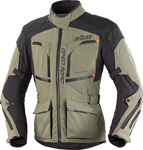 Büse Open Road Evo Motorrad Textiljacke Olivgrün/Schwarz 52