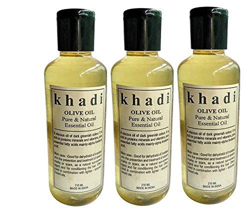 Khadi Olive oil Pure & Natural Essential oil 630ML