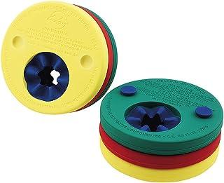 comprar comparacion Delphin - Manguitos para aprender a nadar gradualmente, color rojo / amarillo / verde