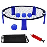 YourPartner Volleyball Spike Game for Beach, Lawn, Outdoor, Yard...