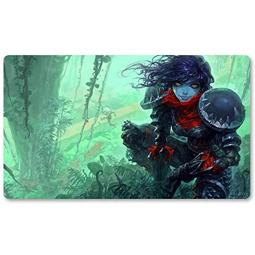 Warcraft60 – Brettspiel Warcraft Playmat Wow Tischmatte Spiele Keyboard Pad Größe 60 x 35 cm World of Warcraft Mousepad für Yugioh Pokemon MTG oder TCG