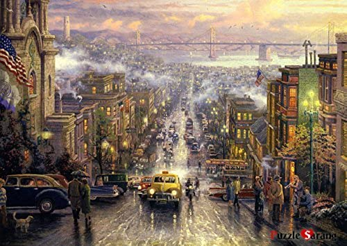 [Puzzlelife] 1000 Piece Jigsaw Puzzles  San Francisco  by Puzzlelife