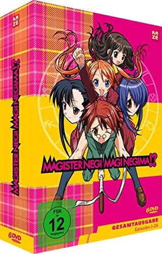 Magister Negi Magi Negima!? - Gesamtausgabe (6 DVDs)
