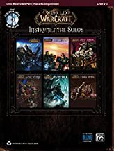 World of Warcraft Instrumental Solos for Strings: Cello (Book & CD)