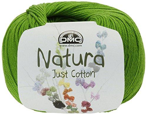 DMC Hilo Natura, 100% algodón, Color Verde Chartreuse N48
