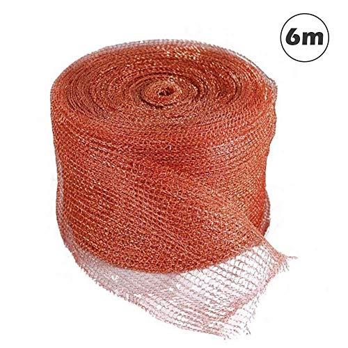 Red Protectora, Malla de Cobre Tejida para murciélago/ratón Tapón Bloqueador de Cobre Depurador de Malla de Cobre, barriles de tubería limpios, Relleno de Huecos/Tela de Relleno DIY, Tela de Mal
