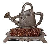 Dibor Cast Iron Boot Brush Vintage Watering Can Garden Boot Scraper Brush