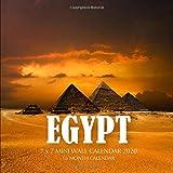 Egypt 7 x 7 Mini Wall Calendar 2020: 16 Month Calendar