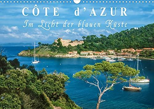 Cote d\'Azur - Im Licht der blauen Küste (Wandkalender 2022 DIN A3 quer)