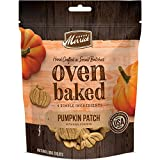Merrick Oven Baked All Natural Hand Crafted in Small Batches Dog Treats 11 oz Pouch Pumpkin Patch