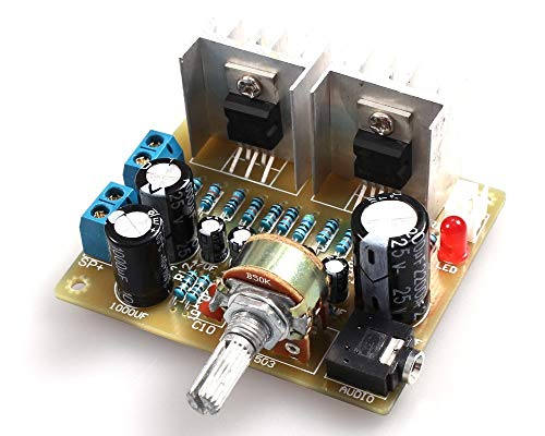 Kit für Verstärker elektronisch, Tda2030A Verstärker Dual Channel Power Board Diy Kit für Arduino Produktions-Ausbildung Suite