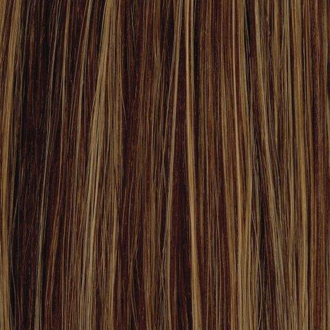 American Dream original de qualité 100% cheveux humains 25,4 cm soyeuse droite trame Couleur 2/27/33 – Brun Foncé/Blond Riche/Cuivre Riche