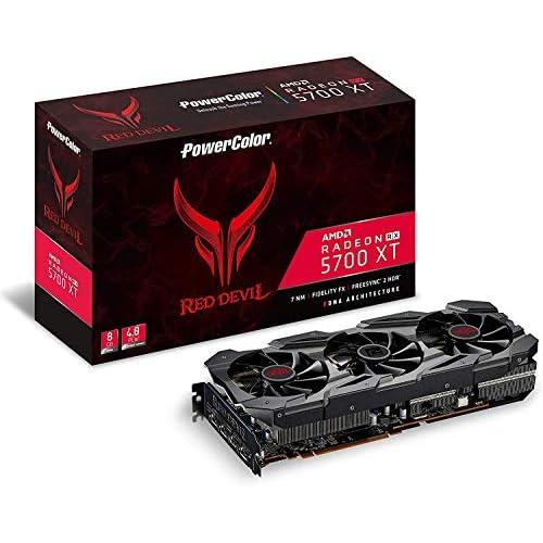 "PowerColor - Scheda grafica AMD Radeon RX 5700 XT ""Red Devil"" 8GB GDDR6 HDMI/3xDP"