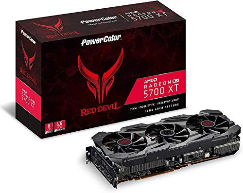 PowerColor RED Devil Radeon RX 5700 XT DirectX 12 AXRX 5700 XT...
