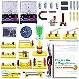 Teenii STEM Science Laboratoire de Physique Circuits de Base d'apprentissage kit de débutant Électricité et Magnétisme Expérience pour Les Enfants de Premier Cycle du secondaire Élèves du secondaire