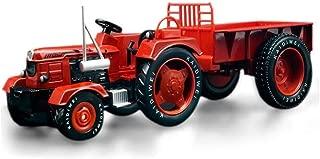 IAIZI おもちゃの車子供のおもちゃKDW合金シミュレーション農業トラクターモデルカーエンジニアリング車カーモデルのおもちゃギフトコレクション (Color : Red)