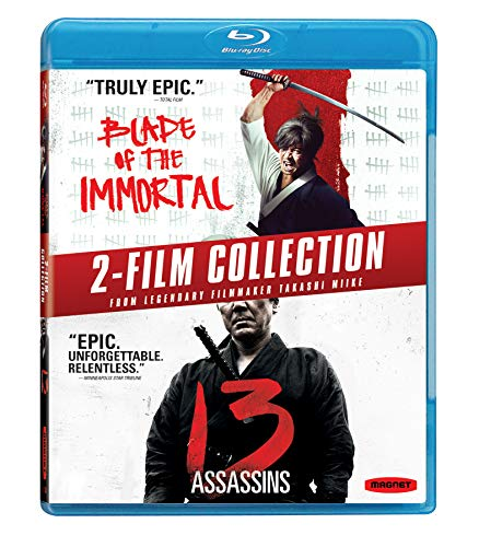 Blade Of The Immortal / 13 Assassins 2-Film Collection [Blu-ray]