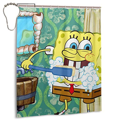 Gfiusgh Funny Shower Curtain 60x72 in-Waterproof, Efficient...