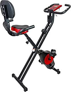 STEADY 最新UXモデル フィットネスバイク 心拍数計測 負荷16段階 [1年保証] ステディ ST120 背もたれ 折りたたみ式 静音 小型