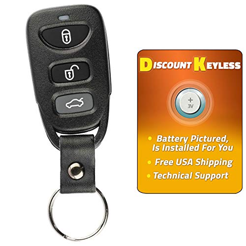 For 12-17 Hyundai Veloster Keyless Entry Remote Key Fob NYOSEKS-TF10ATX