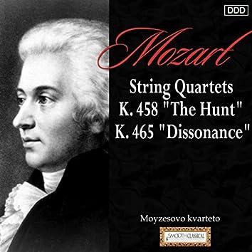 "Mozart: String Quartets, K. 458, ""The Hunt"" and K. 465, ""Dissonance"""