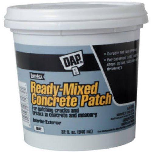 DAP 31090 Rm Concrete Patch Gallon Raw Building Material, Gray