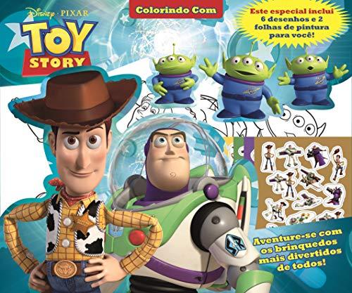 Colorindo com Toy Story