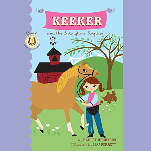 Keeker and the Springtime Surprise audiobook cover art