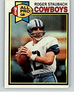1979 Topps #400 Roger Staubach Cowboys EX 373368 Kit Young Cards